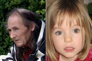 son of dead paedophile suspected in disappearance of madeleine mccann 'thought someone was watching them'