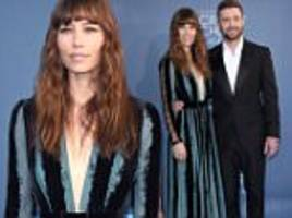 jessica biel and justin timberlake attend the 22nd annual critics' choice awards