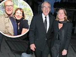 larry lamb secretly split from long-term partner clare burt more than a year ago