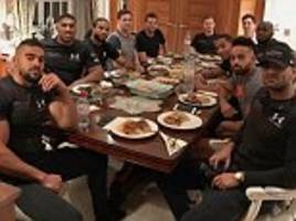 anthony joshua's team: the squad behind the british champion's quest for glory