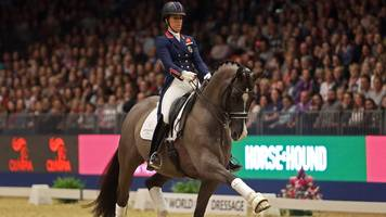 valegro and charlotte dujardin perform 2012 olympic-winning routine