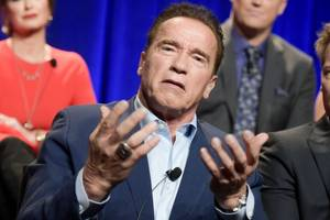 arnold schwarzenegger tells anti-trump voters to 'stop whining'