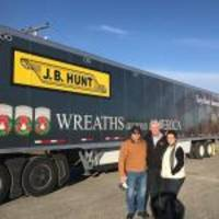 j.b. hunt transport services, inc. participates in wreaths across america for third consecutive year