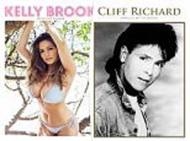 forget bieber and little mix - the top selling calendar for 2017 is by old-time christian crooner cliff richard