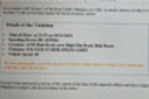derbyshire households warned of scam email which says you have a...