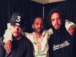 """before seeing """"rouge one: a star wars story"""" flick, big sean drops fire """"single"""" w/ chance the rapper & jeremih"""