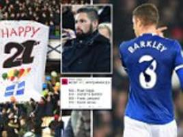 liverpool fans taunt everton's 21 years without a trophy and tony bellew watches from stands: five things you missed from the merseyside derby