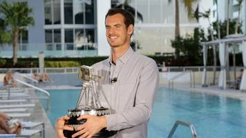 murray credits family with record year