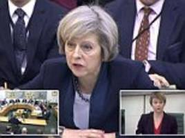theresa may says brexit will change britain 'forever' as she promises a speech giving more detail on her plans in the new year - but she can't tell mps how far eu migration will fall