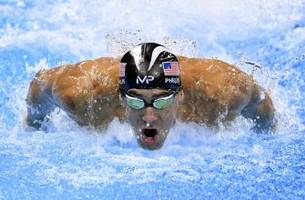 si releases michael phelps cover showcasing 23 gold medals