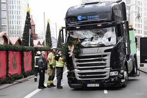manhunt for berlin truck terrorist begins as germany declares we are in a state of war