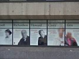 king's college london removes a photo of the former archbishop of canterbury from its 'wall of fame' amid student anger about his views on gay marriage