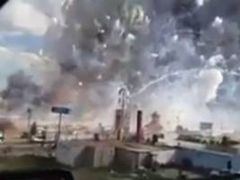 mexico fireworks market explosions kill at least 29: video