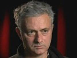 manchester united boss jose mourinho admits to 'a bad feeling' about the lack of chances he has given memphis depay and ashley young
