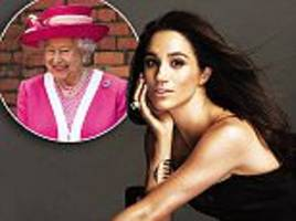 the queen is 'fully supportive' of prince harry and meghan markle's romance