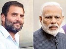 'we want to hear modi confess': rahul gandhi accuses india's pm modi of being paid bribes when gujarat cm