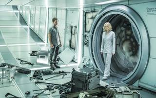 passengers review: in space no one can hear you be a creep