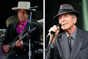 cambridge university is running a new course on bob dylan and leonard cohen