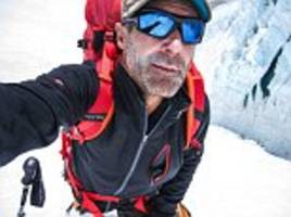 now that's going cold turkey: explorer sets out to be the first to circumnavigate the globe via both poles - and he will be spending christmas near the south pole