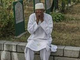 the valley of tears: depressed kashmiris struggle to cope with the trauma of conflict as amnesty say 8,000 people have 'permanently disappeared' after being questioned by indian security forces