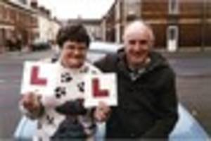 are you gloucester's maureen - who has the most driving test...