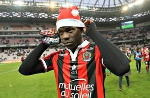 mario balotelli has scored or been booked in every match he's played for nice