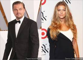 leonardo dicaprio spotted kissing another woman - what about nina agdal?