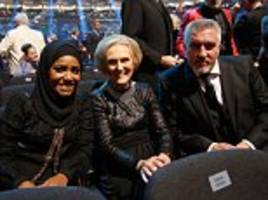 the great british bake flop: paul hollywood's latest book sells just 9,000 copies while mary and nadiya's recipes sell like hot cakes