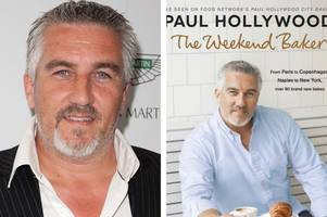 bake off judge paul hollywood's recipe book flops while mary berry's and nadiya hussain's sell like hot cakes