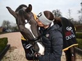 as charlotte dujardin retires valegro, her ferrari of dressage, she plans life with a new prancing horse