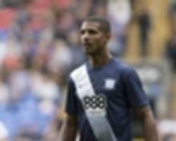 beckford back from suspension...gets sent off after three minutes!