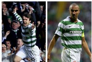 celtic heroes henrik larsson and lubomir moravcik set for parkhead returrn for one-off charity match