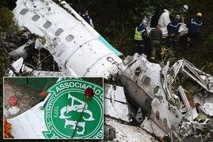 doomed jet carrying chapecoense football team 'low on fuel and overcrowded' when it crashed into mountains killing 71