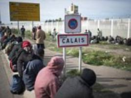 refugees 'returning to camps' near calais jungle weeks after it was bulldozed