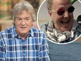 'we're not mates': james may insists he still thinks jeremy clarkson is a 'k***' as he talks about his relationship with his the grand tour co-stars