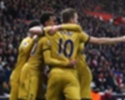 southampton 1-4 tottenham: spurs come from behind to win