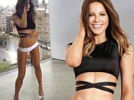 kate beckinsale shares video from shape magazine cover shoot