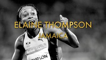 elaine thompson: my golden moment in rio
