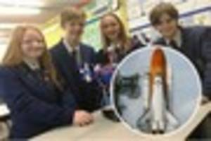 derby school pupils  to  link-up with outer space on trip to...
