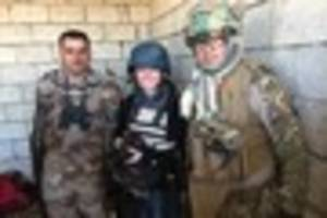 carmarthen war photographer puts life on line in iraq to capture...