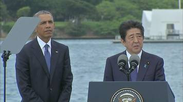 japanese pm: 'sincere and everlasting condolences'