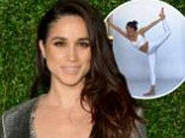 prince harry's girlfriend meghan markle on how she keeps mind and body healthy