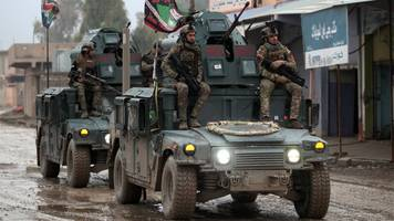 mosul battle: iraqi forces launch 'second phase' of attack