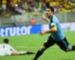 five moments of brazil's 2016: suarez and paraguay make for a troubled start