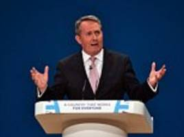 uk already secured £16bn of extra foreign investment since brexit vote says liam fox