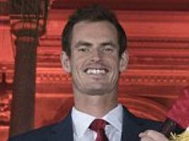 andy murray knighted - but he'll ask wimbledon not to use 'sir' while mo farah and jessica ennis-hill are also awarded new year honours