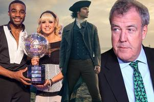 tv quiz of the year: from poldark to strictly come dancing - can you remember 2016's biggest moments?