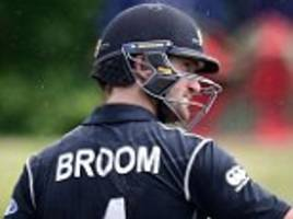 new zealand secure series whitewash vs bangladesh as neil broom and kane williamson star in eight-wicket victory