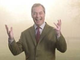 nigel farage's brexit story set to be turned into hollywood movie