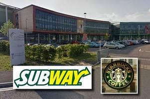 subway and starbucks want to open outlets near treforest industrial estate